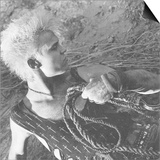 Billy Idol - Whiplash Smile Inner Sleeve 1986 Kunstdruck von  Epic Rights