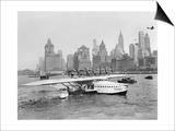 Flugschiff Dornier Do X im Hafen von New York, 1931 Prints by  Scherl