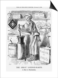 The Great Lozenge-Maker, a Hint to Paterfamilias, 1858 Prints by John Leech