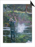 Fly Fishing Posters by Rosemary Lowndes