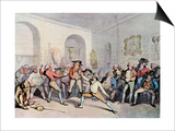 Mr H Angelo's Fencing Academy, 1791 Posters by Thomas Rowlandson