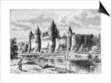 Josselin Chateau, France, 1898 Posters af Dosso Dossi