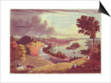 Richmond, Virginia, Engraved by William James Bennett Poster by George Cooke