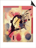 Yellow Centre, 1926 Posters by Wassily Kandinsky