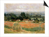 Haystack at Giverny, 1886 Prints by Claude Monet