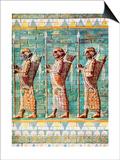 The Archers of Kiing Darius, Susa, Iran, 1933-1934 Prints
