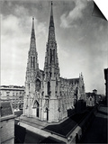 View of St. Patrick's Cathedral Prints