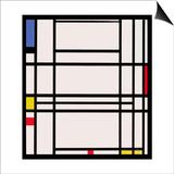 Composition No.10, 1939-42 Prints by Piet Mondrian