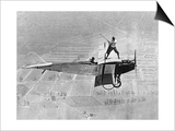 Man Playes Golf at a Plane, 1925 Prints by  Scherl