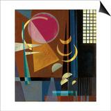 Wassily Kandinsky - Scharf-Ruhig, 1927 Plakát