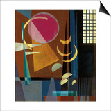 Wassily Kandinsky - Scharf-Ruhig, 1927 - Poster