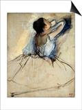 Dancer, C1874 Prints by Edgar Degas