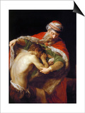 Return of the Prodigal Son, 1773 Art by Pompeo Girolamo Batoni