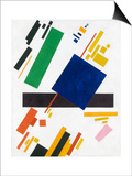 Suprematist Composition by Kazimir Malevich Prints by Kasimir Malevich