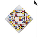 Piet Mondrian - Victory Boogie Woogie (Unfinished), 1944 Plakát
