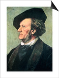 Richard Wagner (1813-188), German Composer, Conductor, and Essayist, Late 19th Century Prints by Franz Seraph von Lenbach