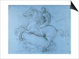 Study for the Sforza Monument, C1488-1493 Posters by  Leonardo da Vinci