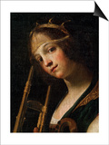 Concert (Detail), Late 16th or Early 17th Century Posters by Francesco Rustici