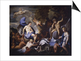 Triumph of Galatea, Copy after Luca Giordano, 1675-76 Láminas por Luca Giordano