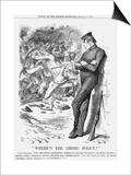 Where's the (Iris) Police, 1870 Poster by Joseph Swain
