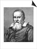 Galileo Galilei (1564-164), 1882 Posters by Justus Sustermans