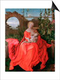 The Virgin and Child, the Madonna with the Iris, 1500-1510 Art par Albrecht Durer