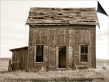 Abandoned Two Story Farm House Posters by Steve Bisig