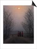 Easter Morning, Between 1828 and 1835 Posters by Caspar David Friedrich