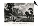 West View of Nottingham Castle, Nottinghamshire, 1776 Art by William Watts