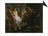 Orpheus and Eurydice, 1636-1638 Posters by Pieter Paul Rubens