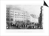 The House in Salzburg in Which Mozart Was Born in 1791, (Mid 19th Centur) Prints