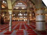 Suleymaniye Mosque, 1550-57 Art by Mimar Sinan