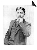 Marcel Proust, French Intellectual, Novelist, Essayist and Critic, Late 19th-Early 20th Century Prints by  Otto