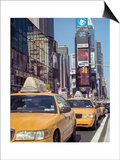 Yellow Cabs, Times Square, New York City Prints by Henri Silberman