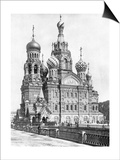 Cathedral of the Resurrection of Christin Saint Petersburg, 1910S Art by  Scherl