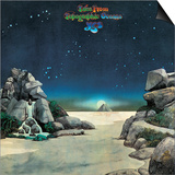 YES - Tales from Topographic Oceans 1973 Print by  Epic Rights