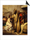 The Slave Market, 1836 Prints by Horace Vernet
