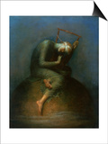 Hope, 1886 Prints by George Frederick Watts