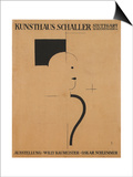 Art Exhibition: Willy Baumeister - Oskar Schlemmer, 1918 Prints by Oskar Schlemmer
