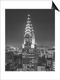 Chrysler Bulding, New York City 2 Prints by Henri Silberman