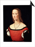Female Portrait, C1500-C1506 Posters by Lorenzo Costa