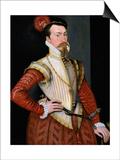Robert Dudley, 1st Earl of Leicester (1532-158), 1560s Poster by Steven van der Meulen