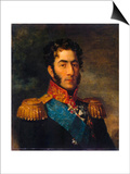 Prince General Pyotr Ivanovich Bagration, Russian Soldier, 1820 Posters by George Dawe