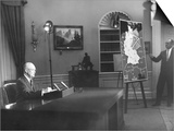 President Eisenhower Speaks to the Nation on Cold War Tensions over Berlin Posters