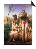 Judah and Tamar, 1840 Prints by Horace Vernet