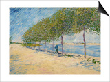 Along the Seine, 1887 Posters by Vincent van Gogh
