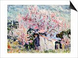 Spring in Provence, 1903 Prints by Paul Signac
