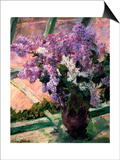 Lilacs in a Window, C1880 Posters by Mary Cassatt