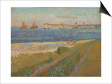 The Schelde Near Veere, 1907 Poster by Jan Toorop