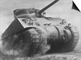 The Sherman Tank Was the Primary Battle Tank of the U. S. and Western Allies from 1942-45 Posters